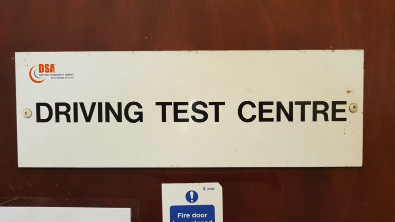 Isleworth driving test centre automatic car