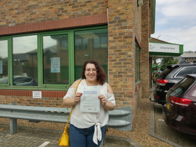 Chertsey driving test centre